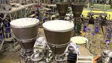 Российские ракетные двигатели РД-180, изготовленные по заказу США на НПО Энергомаш. Архивное фото