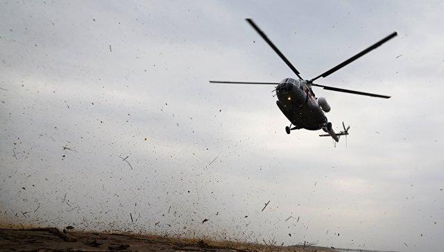 В Красноярском крае 18 человек погибли при крушении вертолета Ми-8