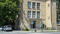 Столица Южной Осетии город Цхинвал, архивное фото