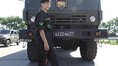 Грозные автоледи: крутые виражи на КамАЗах от девушек-военнослужащих