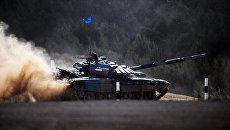 Российский танк. Архивное фото