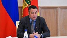 Губернатор Тверской области Игорь Руденя занял третье место в медиарейтинге глав субъектов Центрального федерального округа за июль