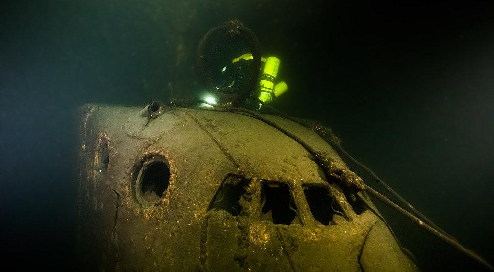 Подводная лодка Щ-317, обнаруженная участниками экспедиции «Поклон кораблям Великой Победы»