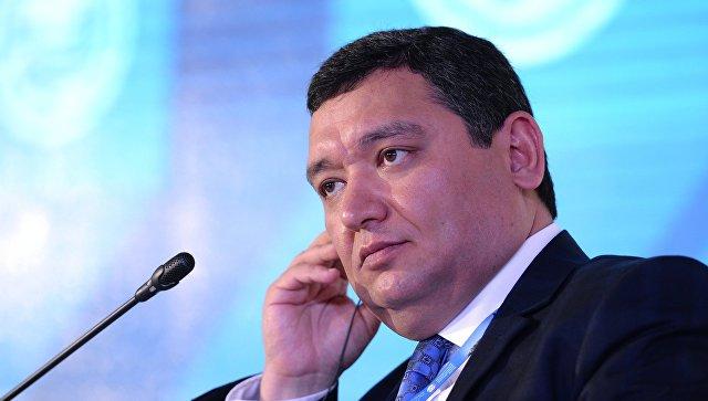 Министр экономического развития и торговли Республики Таджикистан Неъматулло Хикматуллозода