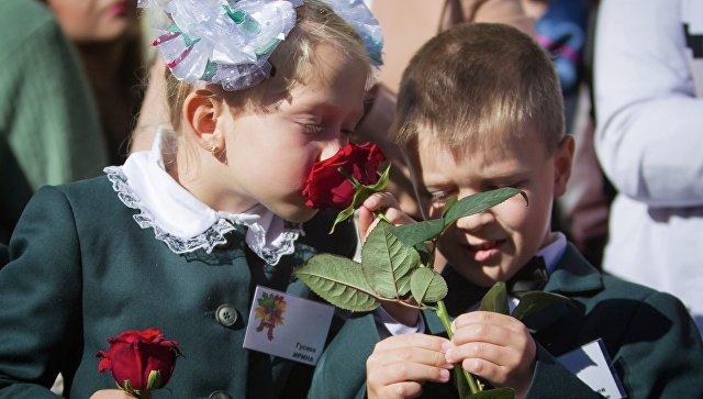 Начало учебного года в Макеевке, Донецкой области