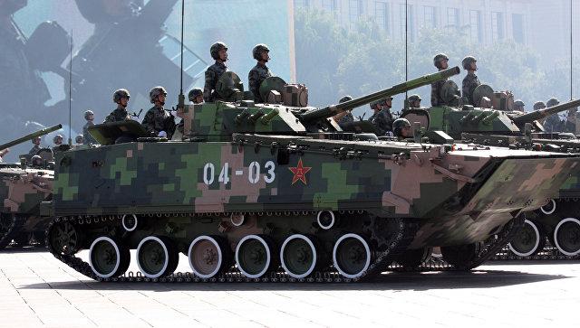 Китайские танки. Архивное фото