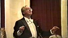 Стоп-кадр с видео концерта Лео Корхина