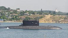 Подводная лодка Б-871 Алроса в Севастополе. Архивное фото