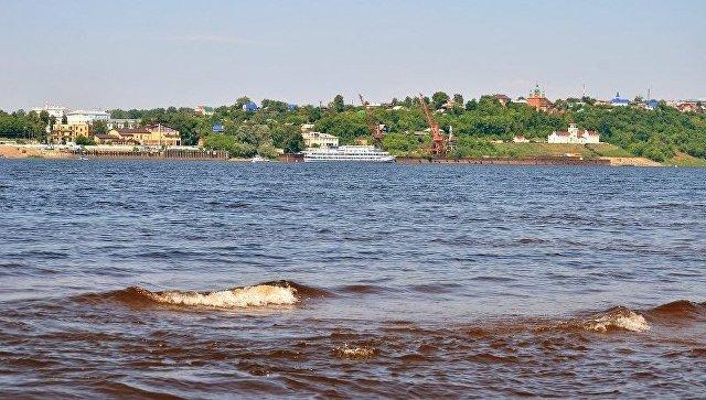 Вид на реку Кама и город Сарапул. Архивное фото