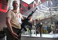 Автомат Калашникова АК-308 на презентации в рамках IV Международного военно-технического форума Армия-2018 в КВЦ Патриот