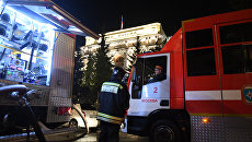 В здании Центробанка произошёл пожар