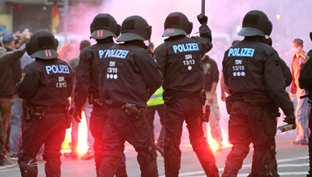 Протесты на востоке Германии: 6 человек получили ранения