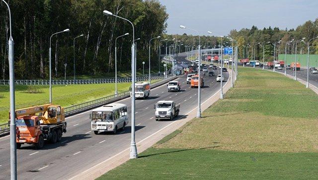 Новая трасса от Киевского до Калужского шоссе. 29 августа 2018