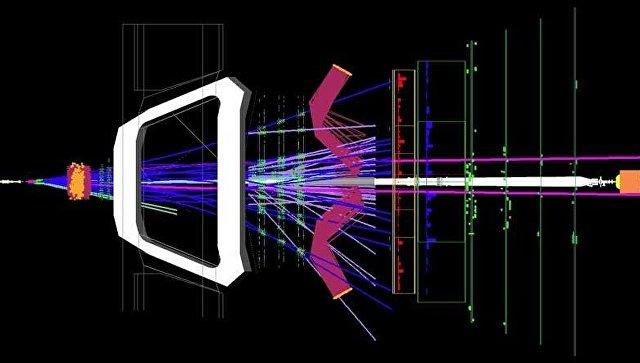 Рождение и распад Bs-мезонов в детекторе LHCb Большого адронного коллайдера