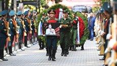 Церемония похорон народного артиста СССР, певца, депутата Государственной Думы РФ Иосифа Кобзона