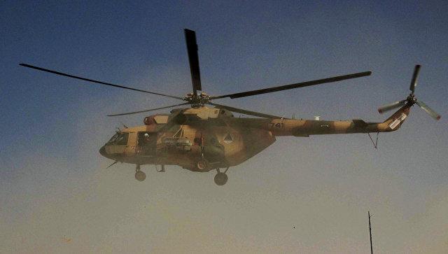 В Афганистане пять человек погибли при крушении военного вертолета