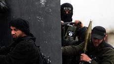Боевики группировки Джебхат ан-Нусра* в Сирии. Архивное фото