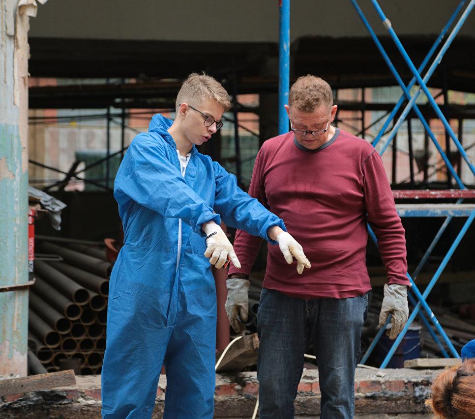 Реставрация дома Наркомфина в Москве