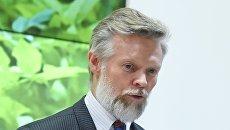 Посол Швеции в России Петер Эриксон. Архивное фото