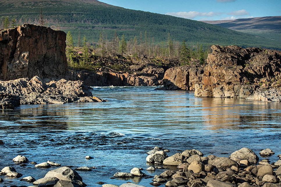 Каньон реки Яктали