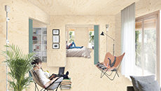 Проект планировки жилья от испанского бюро Sidereal studio