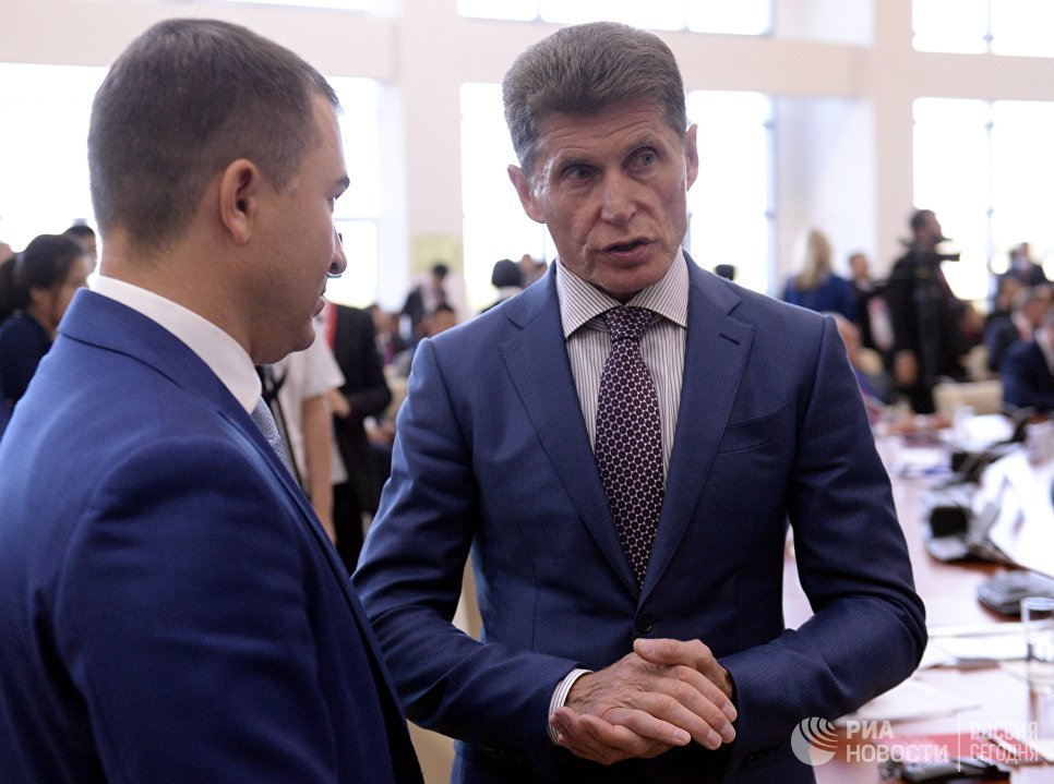Губернатор Сахалинской области Олег Кожемяко