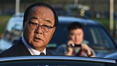 Министр внешнеэкономических дел КНДР Ким Ён Чжэ на IV Восточном экономическом форуме во Владивостоке