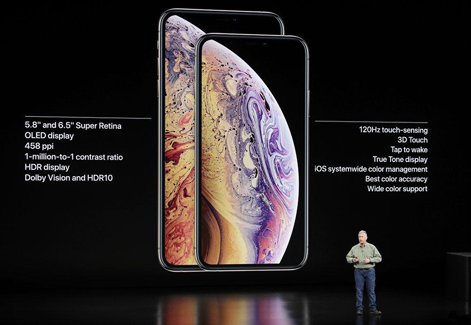 Презентация новых смартфонов Apple iPhone XS и Apple iPhone XS Max. 12 сентября 2018 года
