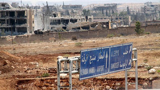 SANA: коалиция США нанесла удары поСирии с употреблением  белого фосфора