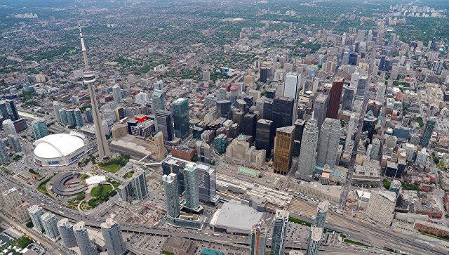 Вид на Торонто, Канада