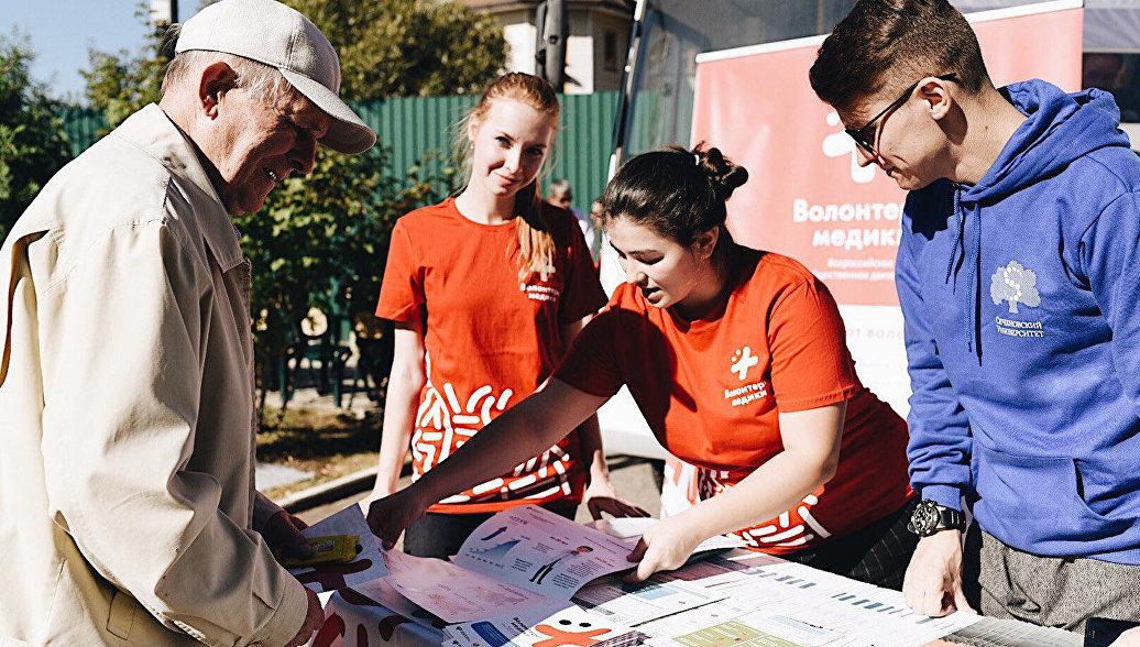 Волонтеры проведут диагностику среди населения в селах