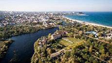 Вид на Краснодарский край. Архивное фото