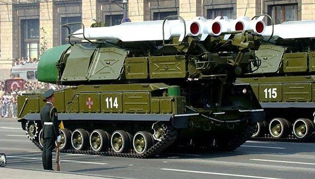Бук М-1 ВСУ на параде в Киеве