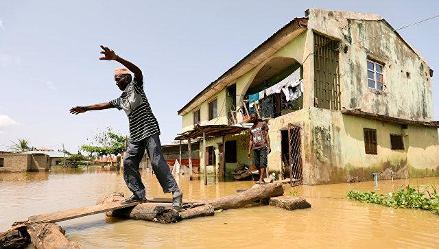 Наводнение в штате Коги, Нигерия. 17 сентября 2018