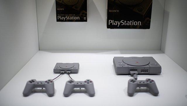 Sony начинает продажи приставки PlayStation Classic