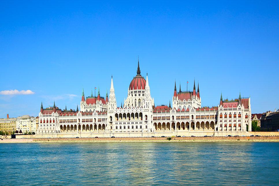 Здание парламента в Будапеште, Венгрия