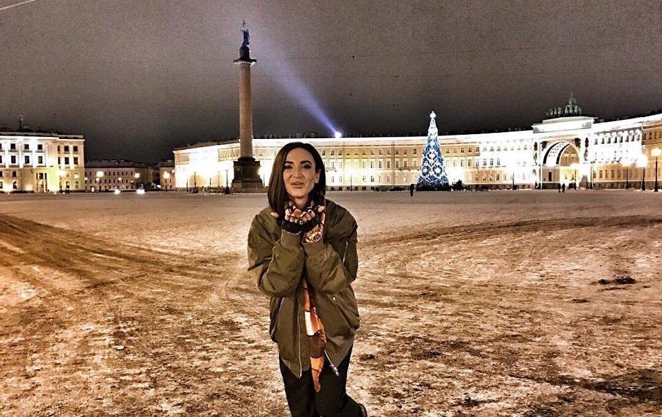 Ольга Бузова в Санкт-Петербурге