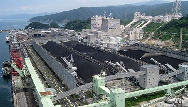 Угольная ТЭС в Японии
