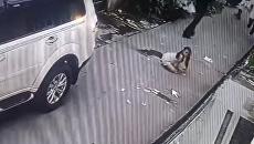 Ограбление в провинции Кавите, Филиппины. Скриншот видео с камеры наружного наблюдения