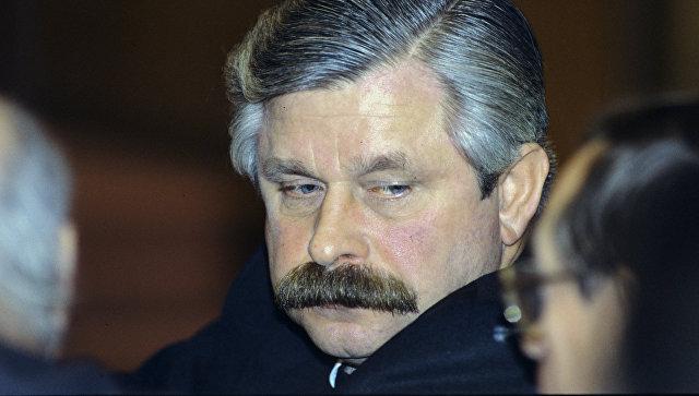 Вице-президент России Александр Владимирович Руцкой. Архивное фото