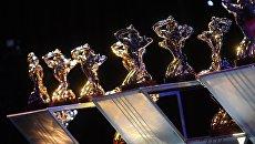 Бронзовые статуэтки Орфей - призы победителям премии ТЭФИ-2018