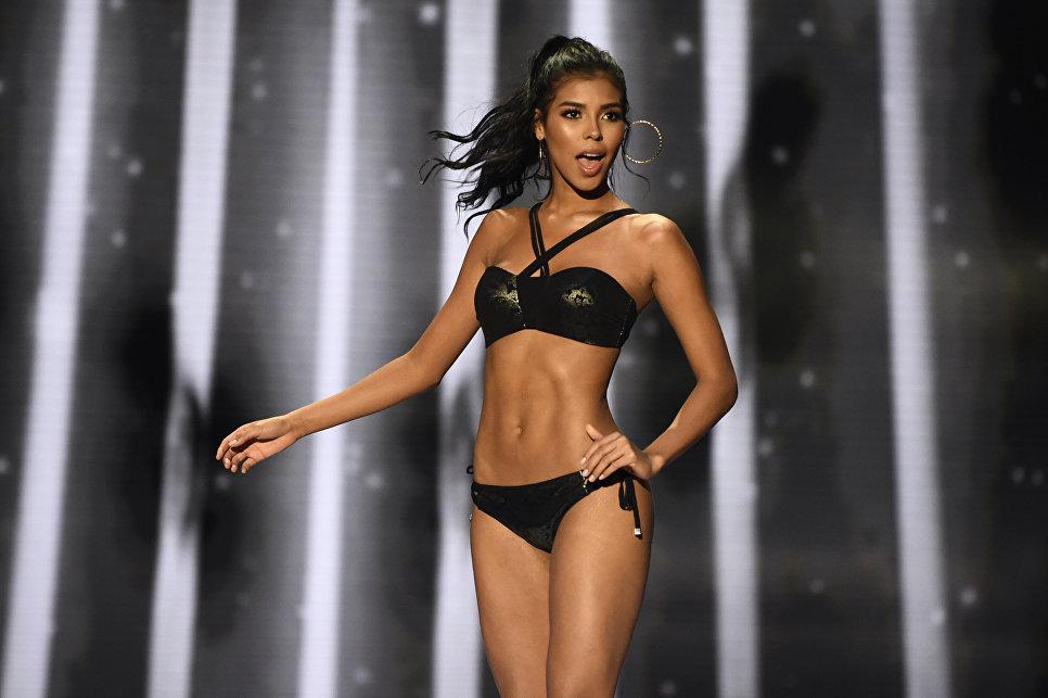 Участница конкурса красоты Мисс Колумбия Miriam Carranza