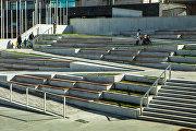 Лестница в новом проходе в Парк Горького