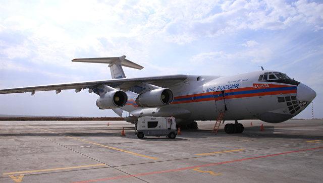 Ил-76 прибыл в Симферополь для эвакуации пострадавших при взрыве в Керчи