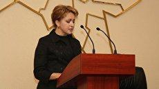 Экс-министр занятости, труда и миграции Саратовской области Наталья Соколова. Архивное фото