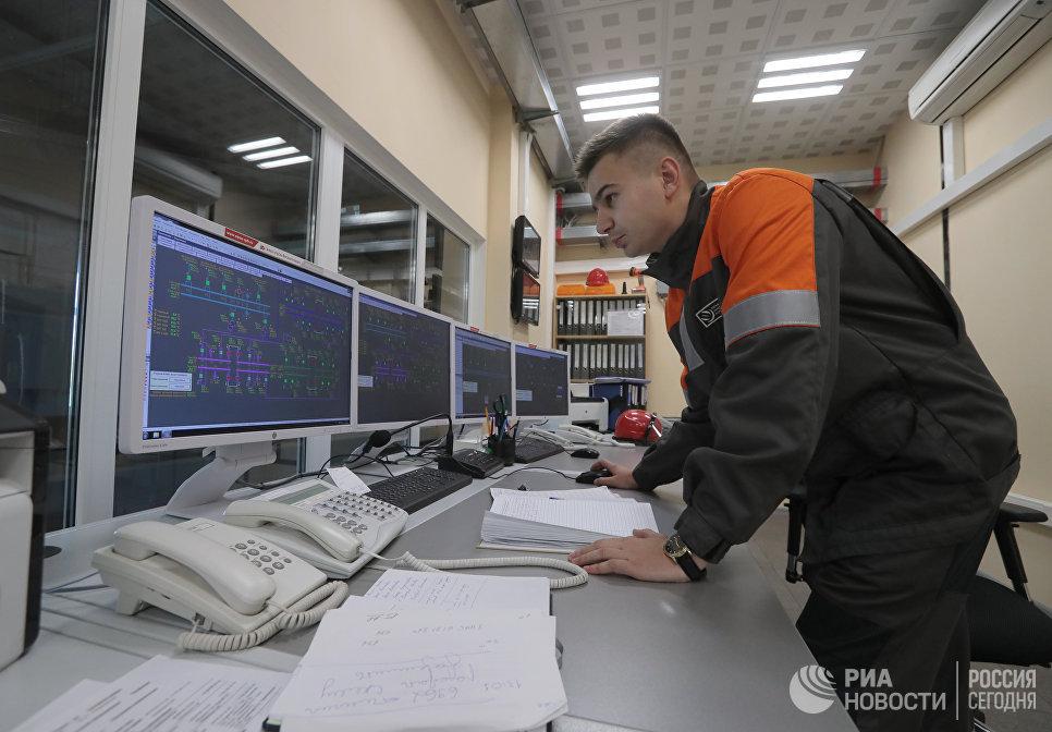 Иван Дудка на Берсеневской подстанции
