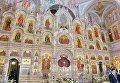 Иконостас Минского храма-памятника во имя Всех святых и в память о жертвах, спасению Отечества нашего послуживших (Всехсвятской церкви)