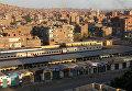 Железнодорожная станция в Асуане, Египет