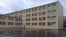 Школа №339 на улице Дыбенко в Санкт-Петербурге. Архивное фото