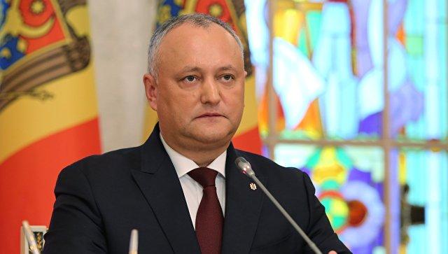 Додон заявил, что Россия снимет на полгода пошлины на молдавские товары